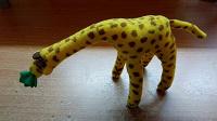 Отдается в дар игрушка жираф