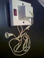 Отдается в дар что-то электрическое ) Потолочный выключатель