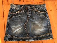 Отдается в дар джинсовая юбочка