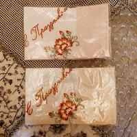 Отдается в дар носовые платочки