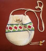 Отдается в дар Вязаная сумочка