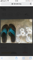 Отдается в дар Кожаные шлепки и резиновые сандали, 35