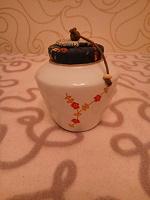Отдается в дар Керамическая емкость для хранения чая.
