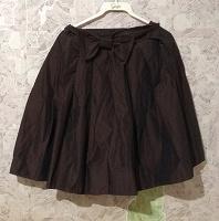 Отдается в дар Шоколадная юбка