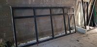Отдается в дар Алюминиевое окно 2,6 x 2,7 м