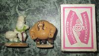Отдается в дар Маленькие фигурки для коллекции (ХХ век)