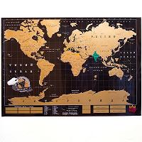 Отдается в дар Стирающаяся карта true map