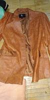 Отдается в дар Кожаная куртка