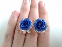 Отдается в дар Красивые серьги-розы