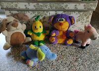 Отдается в дар Маленькие мягкие игрушки