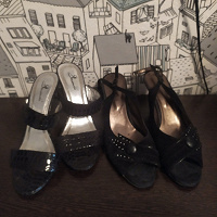 Отдается в дар Женская обувь на лето