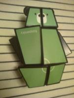 Отдается в дар Мишка-головоломка по типу кубика Рубика