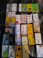 Отдается в дар Карточки рекламные. Для коллекции.