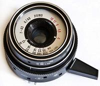 Отдается в дар Часть объектива от фотоаппарата СМЕНА-8М