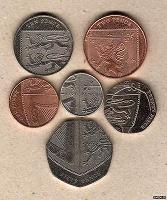 Отдается в дар Монеты британского щита