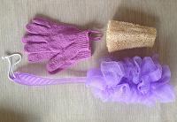 Отдается в дар Мочалки и перчатки для скраба