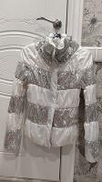 Отдается в дар Куртка белая S