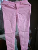 Отдается в дар розовые джинсы