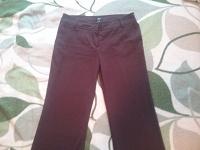 Отдается в дар Бордовые брюки 48 размер