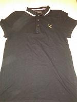 Отдается в дар Рубашка — поло черная на подростка