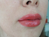 Отдается в дар Татуаж губ