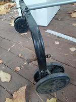 Отдается в дар Рама стальная или теннисный стол на запчасти