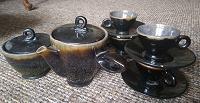 Отдается в дар Керамический кофейный сервиз