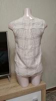 Отдается в дар Летняя блуза с имитацией на запах