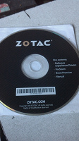 Отдается в дар Какой-то диск с драйверами Zotac.
