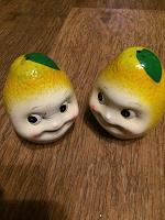 Отдается в дар Солонка и перечница «лимончики»