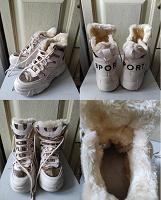Отдается в дар Зимние кроссовки 36