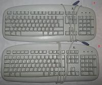 Отдается в дар Клавиатуры с разъемом PS/2