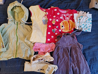 Отдается в дар Одежда для девочки 12-18 месяцев