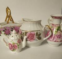 Отдается в дар Посуда «Розовые розы»