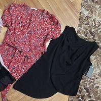 Отдается в дар Летние блузы с коротким рукавом