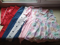 Отдается в дар Пакет одежды девочке 122