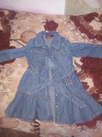 Отдается в дар Милое детское джинсовое платье