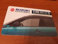 Отдается в дар Пластиковая карта Сузуки