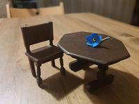 Отдается в дар Старинная кукольная мебель
