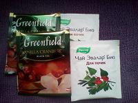 Отдается в дар Чай Лисма 25 пак. и 4 пакетика на пробу