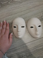 Отдается в дар Гипсовые маски для росписи