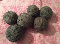Отдается в дар Клубки ниток для вязания