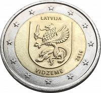 Отдается в дар Евромонета Латвии