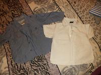 Отдается в дар рубашки на мальчика 2-4 года