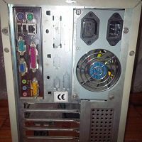 Отдается в дар Системный блок Asus Pentium 90 х годов
