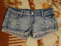 Отдается в дар Короткие джинсовые шортики 46-48 р-р