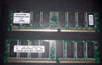 Отдается в дар Оперативная память DDR1. 512 мег и 256 мег