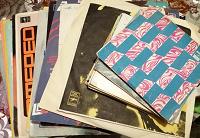 Отдается в дар Пластинки родом из СССР и несколько журналов «Кругозор»