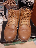 Отдается в дар Зимние мужские ботинки