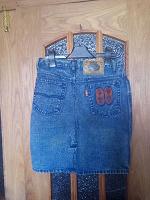 Отдается в дар Юбка джинсовая варенка размер 29